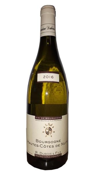 Vin Blanc Bourgogne A.O.P Hautes-Côtes de Nuits Domaine Dubois 2016 75 cl
