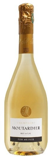 """Champagne Extra- Brut Moutardier """"Nature"""" 75 cl"""