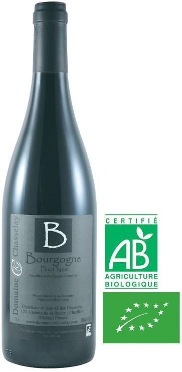 A.O.C Bourgogne Domaine Chasselay Bio 2018 75 cl