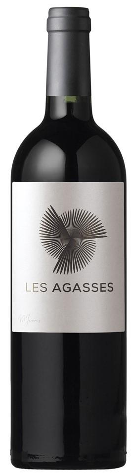 """Vin rouge Vallée Rhône I.G.P Méditerannée Les Agasses """"Merlot"""" 2017 75 cl"""