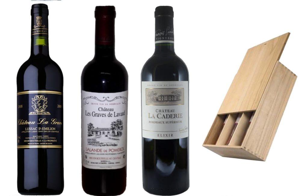 Coffret Vins de Bordeaux