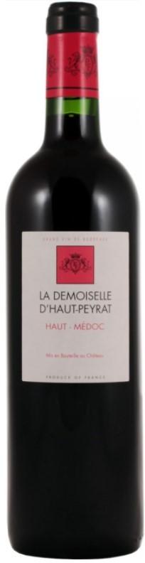 Haut-Médoc La Demoiselle d'Haut-Peyrat 2015 75 cl