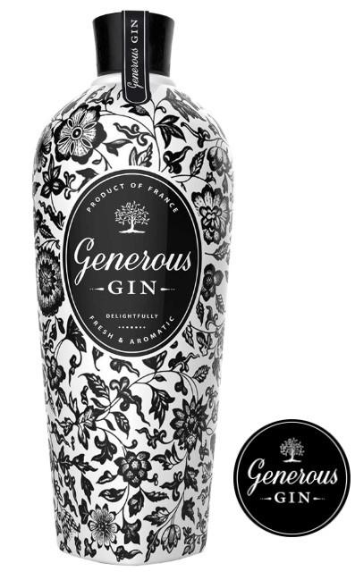 Generous GIN Distilled Gin Français 70 cl