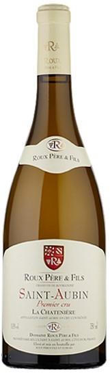 """Vin Blanc Bourgogne A,O,C Saint-Aubin 1er cru Domaine Roux """"La Chatenière"""" 2017 75 cl,"""