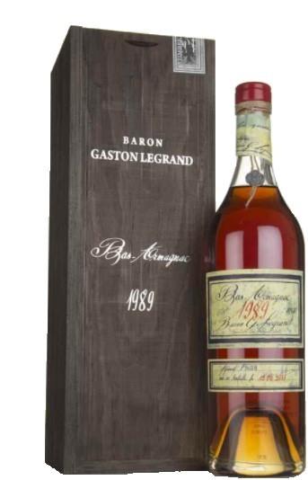 Bas-Armagnac Baron Gaston Legrand 1989 70 cl.