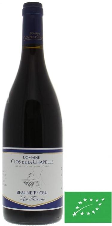 """Beaune 1 er Cru Domaine Clos de la Chapelle """"Les Teurons"""" 2015 75 cl"""