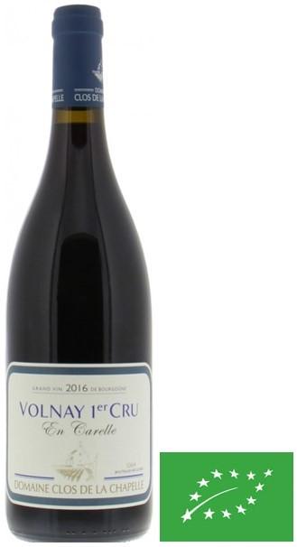 """Volnay 1er Cru Clos de la Chapelle """" En Carelle """" 2016 75 cl"""