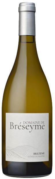 Vin Blanc Vallée Rhône A.O.P Côtes du Rhône Domaine de Breseyme 2018 75 cl