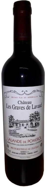 Lalande de Pomerol Château Les Graves de Lavaud 2017 75 cl