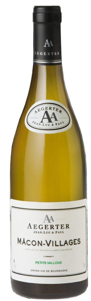 Vin Blanc Bourgogne A.O.P Mâcon-Villages Domaine Aegerter 2018 75 cl