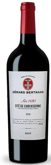 Vin Rouge Languedoc I.G.P Cité de Carcassonne Gérard Bertrand 2018 75 cl