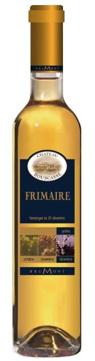 """Vin Doux Sud Ouest A.O.P Pacherenc du Vic-Bilh Château Bouscassé """"Frimaire"""" 2000 50 cl"""