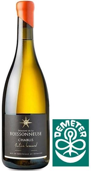 """Vin Blanc Chablis Julien Brocard Les 7 Lieux """"La Boissonneuse"""" 2011 150 Cl"""