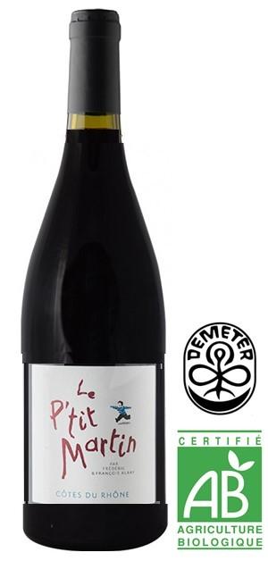 """Côtes du Rhône """"Le P'tit Martin"""" 2019 75 cl"""