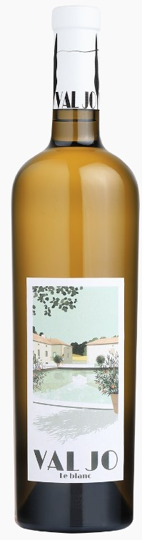 Vin Blanc Vallée Rhône I.G.P Méditerannée Val Jo Blanc 2020 75 cl